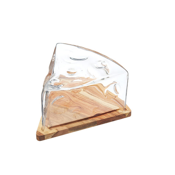 Artesa cheese wedge glass cheese wedge cloche glass cloche cheese display cheese board cheese stand cheese and wine display
