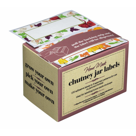 Chutney Jar Labels