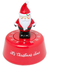 Father Christmas manual timer vegetable timer egg timer