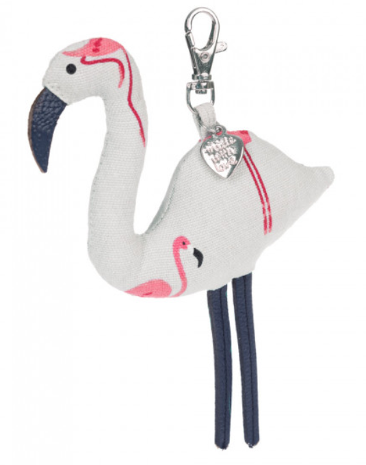 Keyring flamingo flamingos gifts pink gifts girly gifts stocking fillers sophie allport