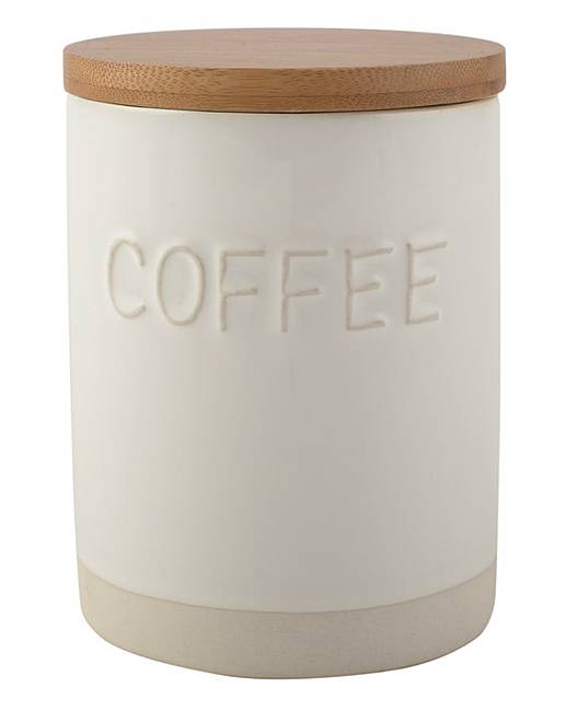 La Cafetiere Origins country cottage rustic storage jar coffee cannister