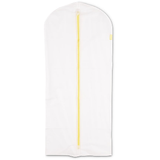 Set of 2 white protective clothes covers, large 60X135 cm.