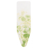 Brabantia Leaf Clover lime green ironing board cover. Heavy duty 100% cotton