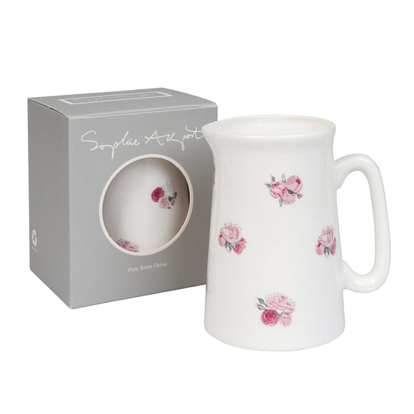 made and designed in the UK. a very pretty 500ml jug ideal as a a mothers day present or a present for someone special
