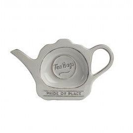 Pride of place grey tea bag tidy tea bag holder