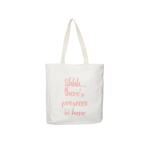 Tote bag shopping bag prosecco bag funny bag ava and I Ava & I Ava&I canvas bag