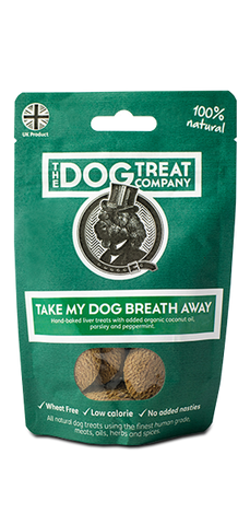 Dog treat company dog treats doggy deli natural wheat free Take My Dog Breath Away