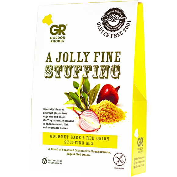 a jolly fine stuffing gordon rhodes gluten free sage and red onion stuffing mix