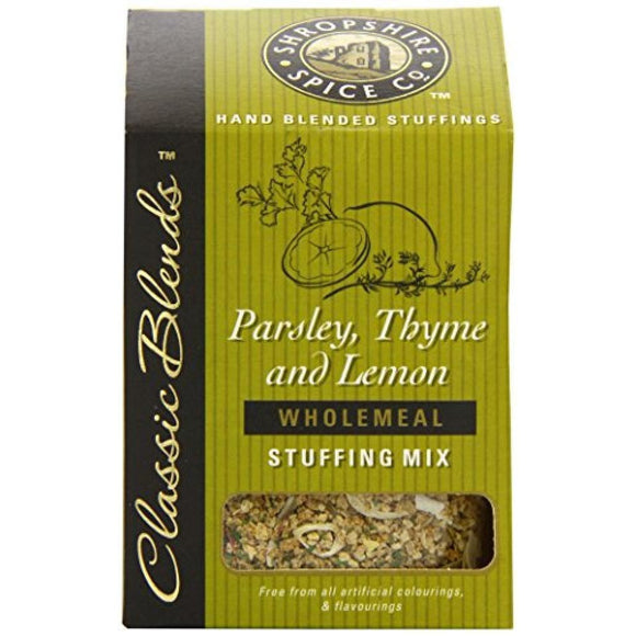 The Shropshire Spice co parsley thyme and lemon wholemeal stuffing stuffing mix shropshire produce local produce