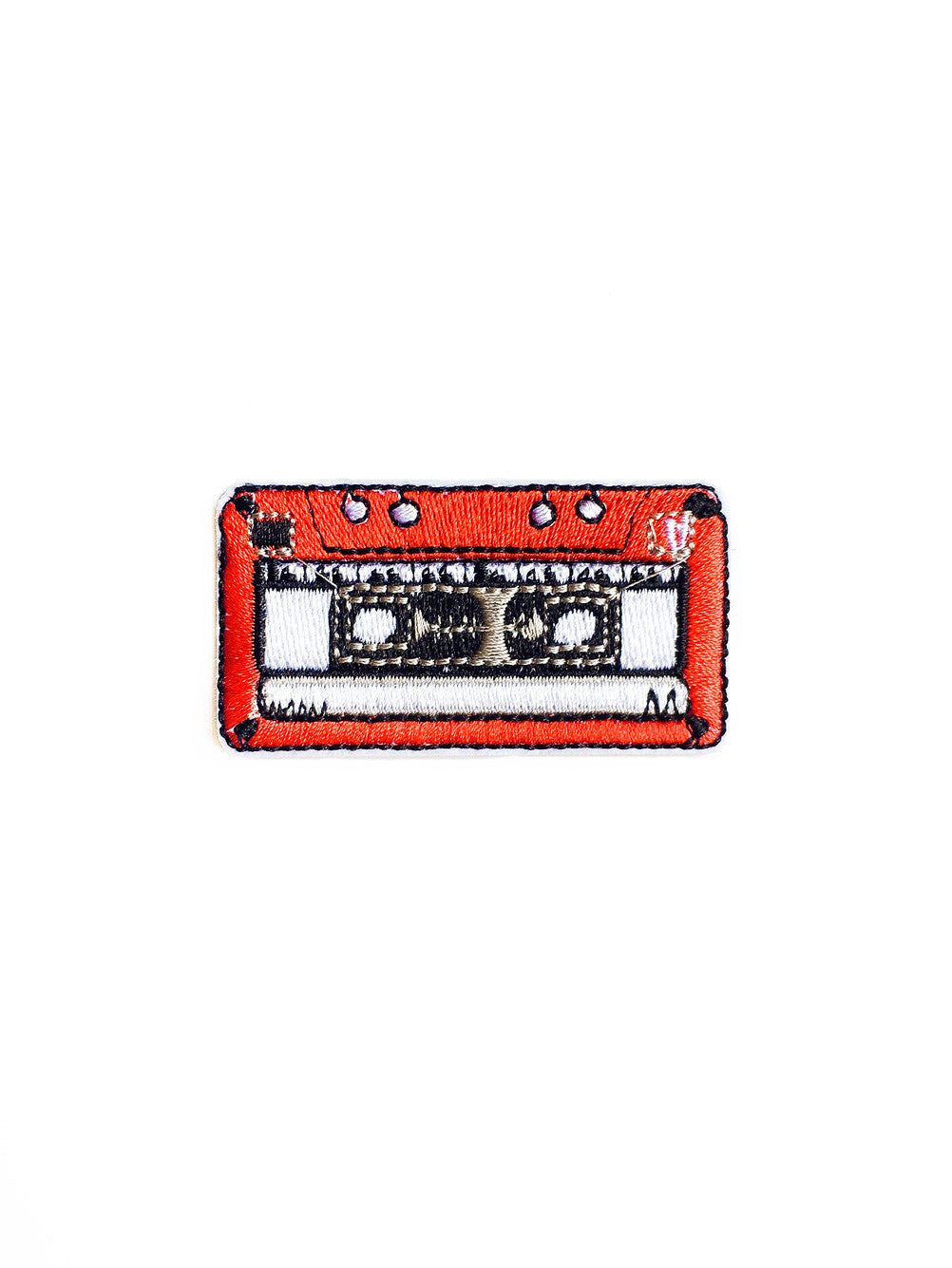 Throwback Cassette Tape Iron On Patch