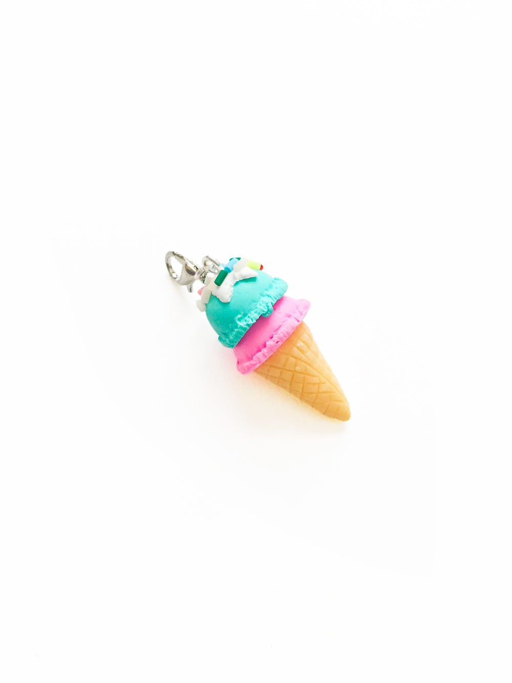 Kawaii Ice Cream Zipper Pull Charm