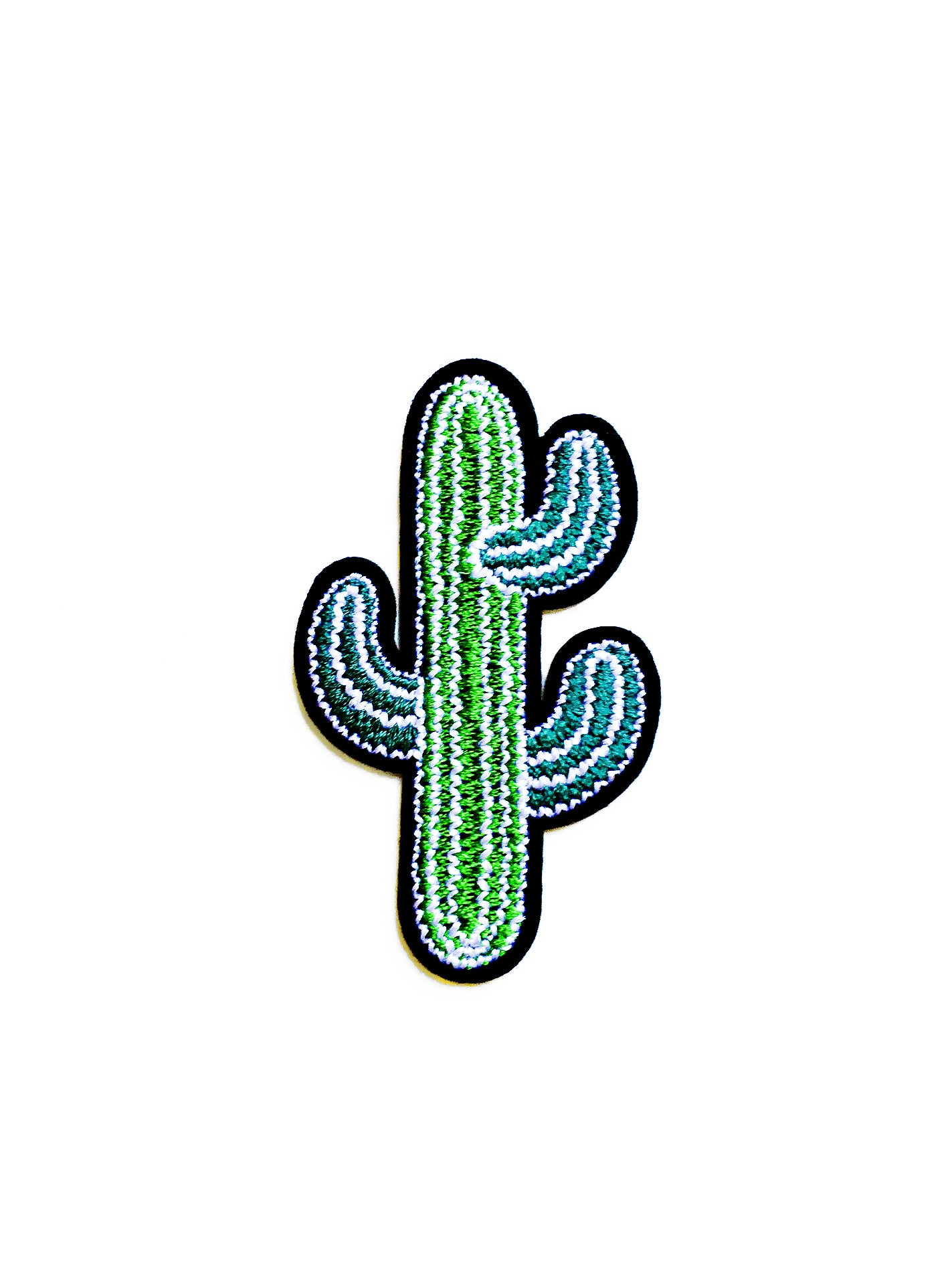 Cactus Iron on Patch
