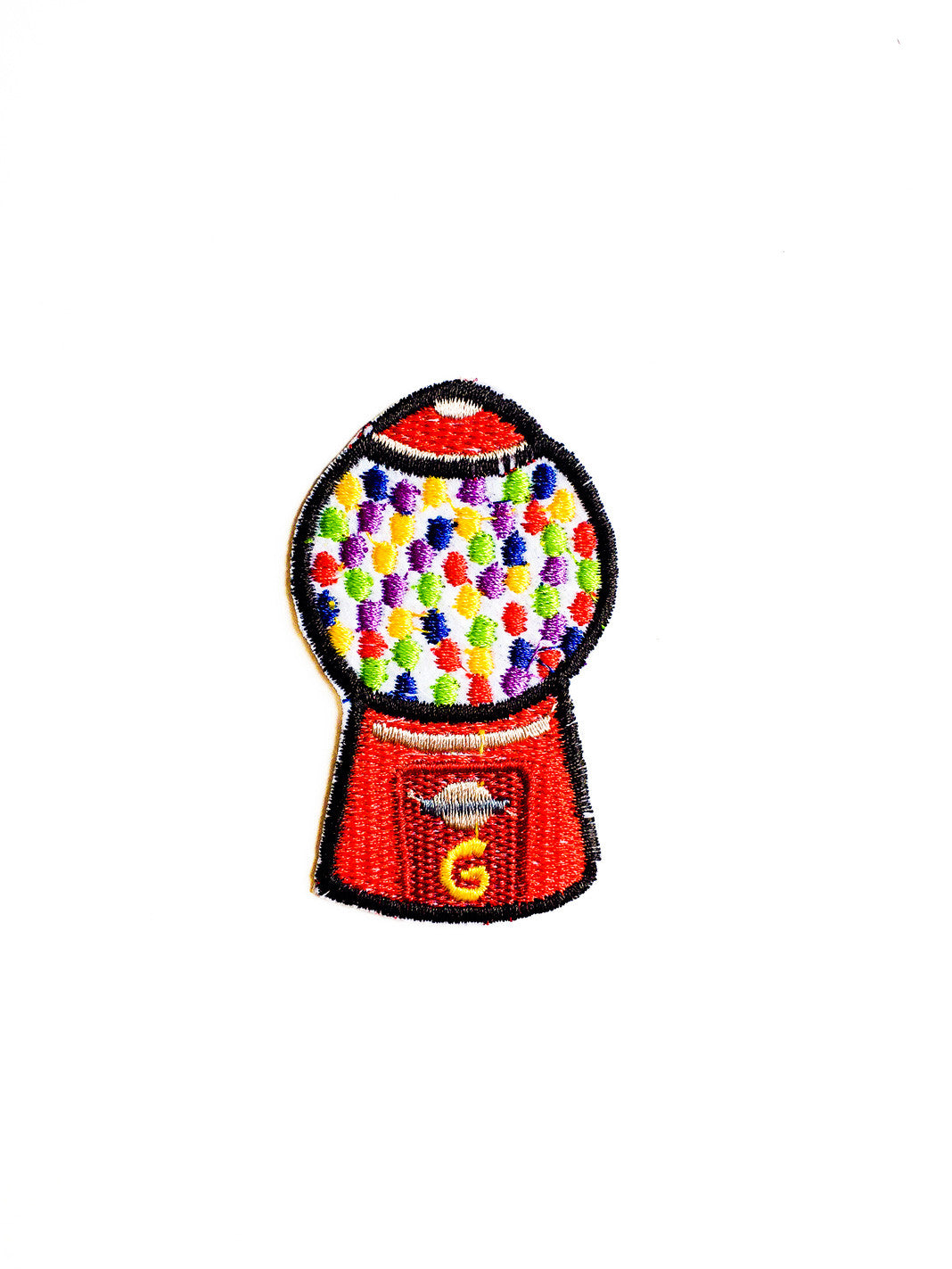 Gumball Machine Iron On Patch