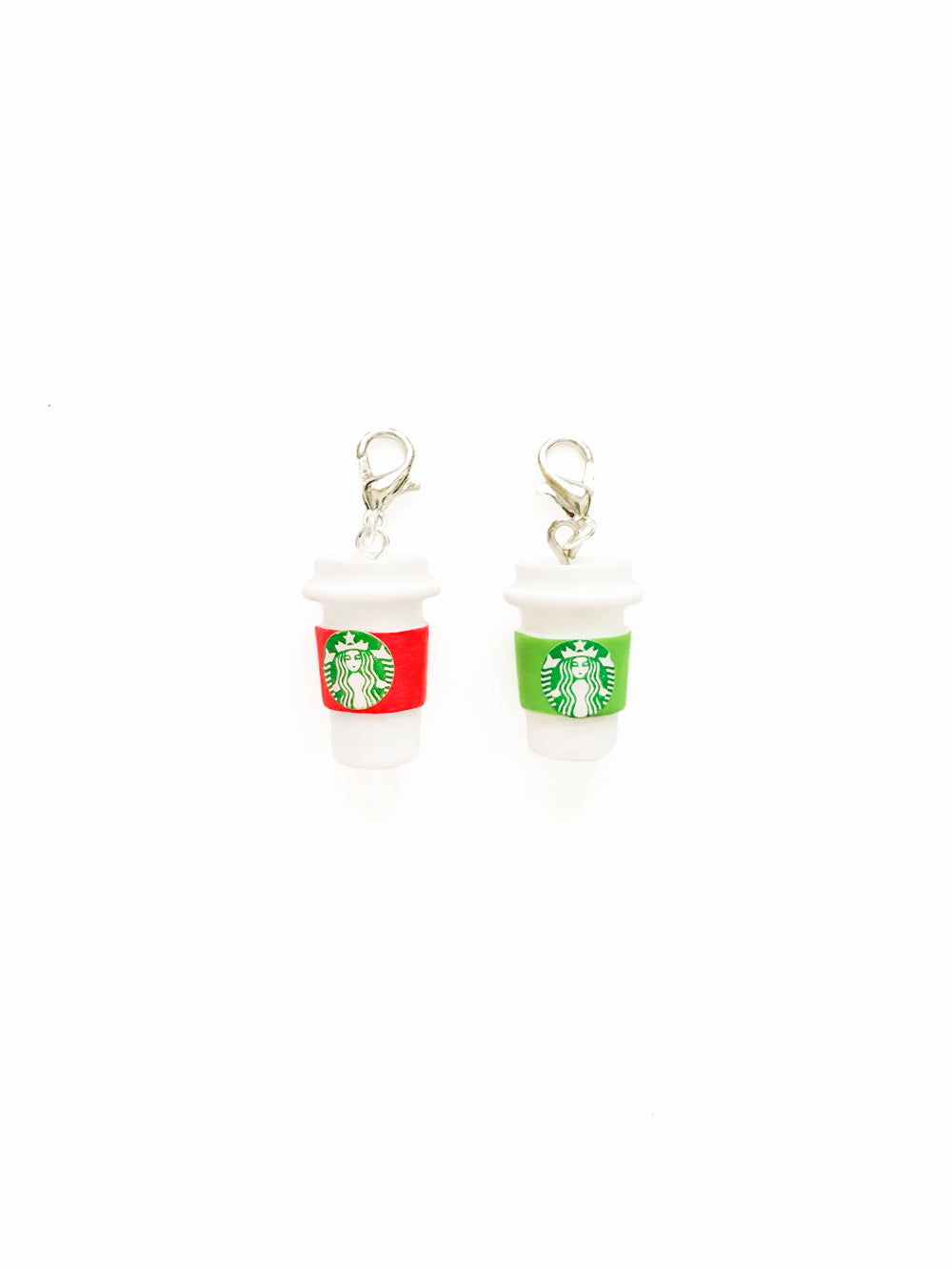Christmas Starbucks Cup Zipper Pull Gift Set