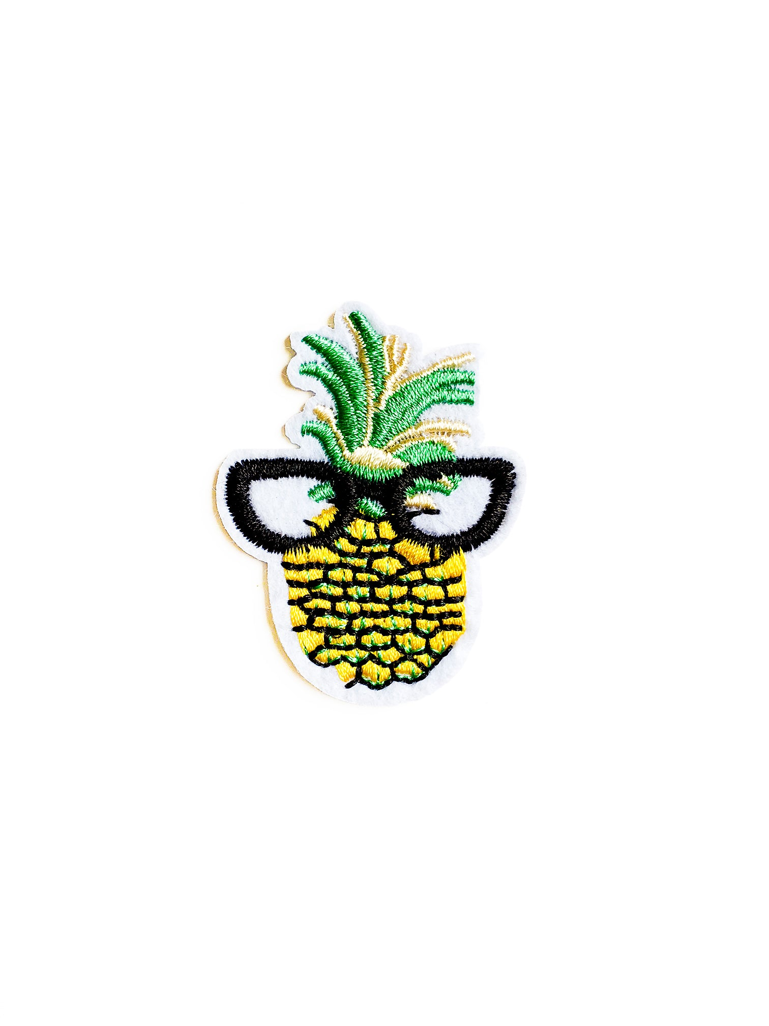 Cool Pineapple Iron on Patch