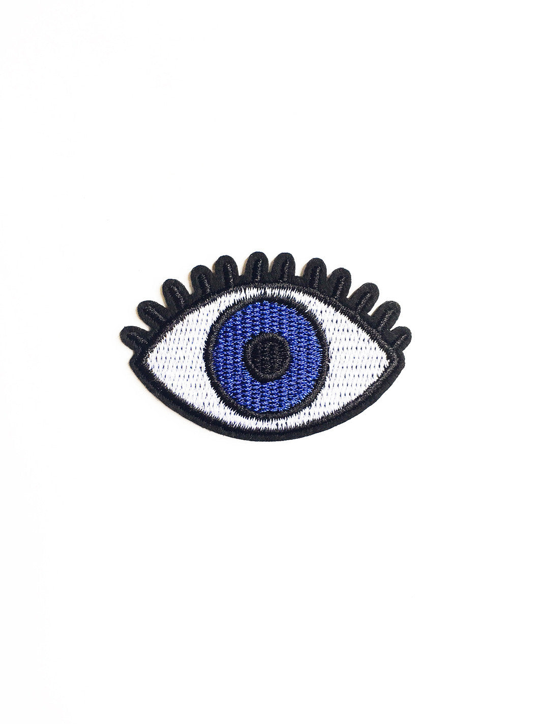 Blue Eye Iron On Patch