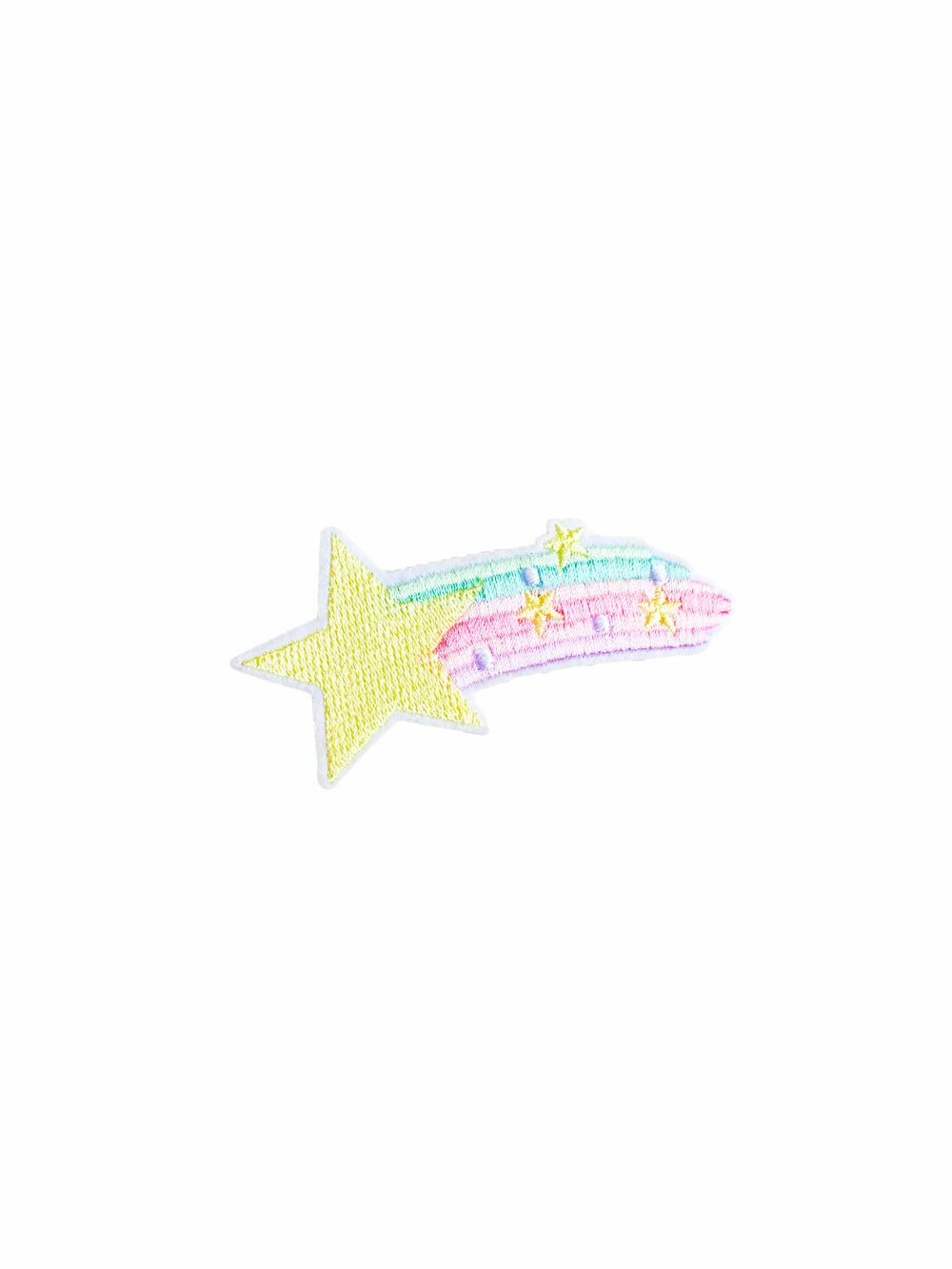 Fairy Kei Shooting Star Iron on Patch
