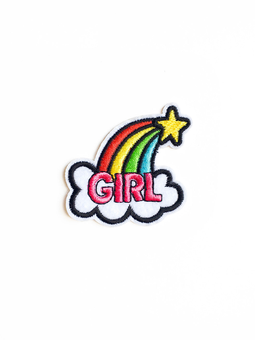 It's Good To Be A Girl Iron On Patch