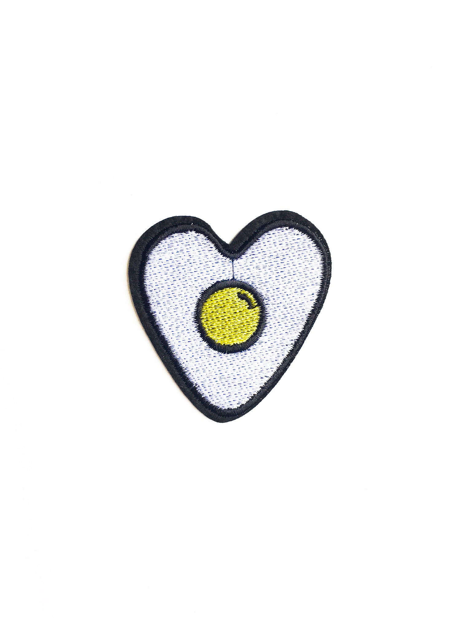 Heart Egg Iron on Patch