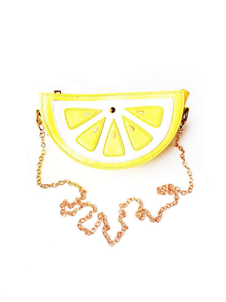 Lemon Slice of Life Purse