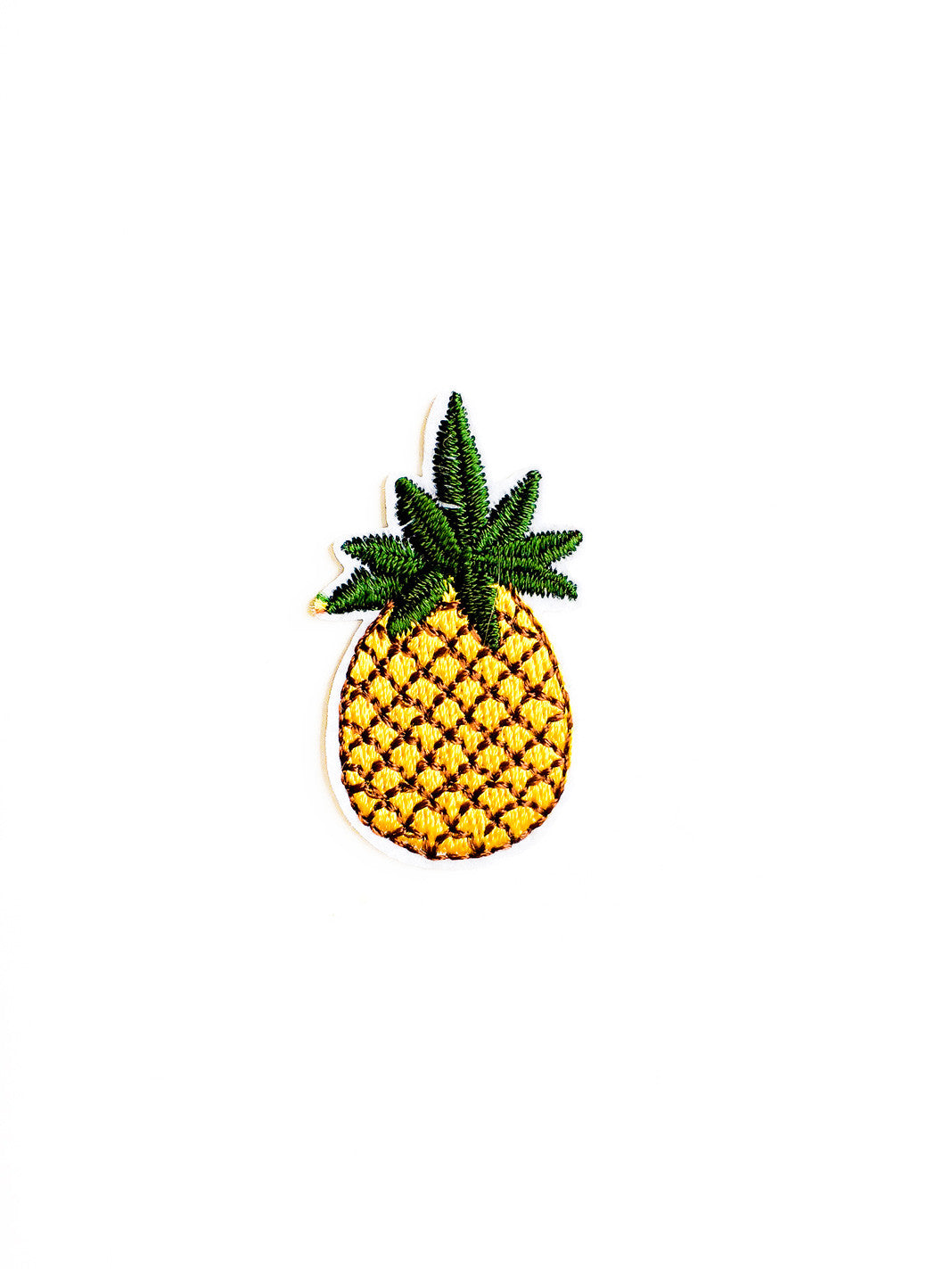 Mini Pineapple Iron On Patch