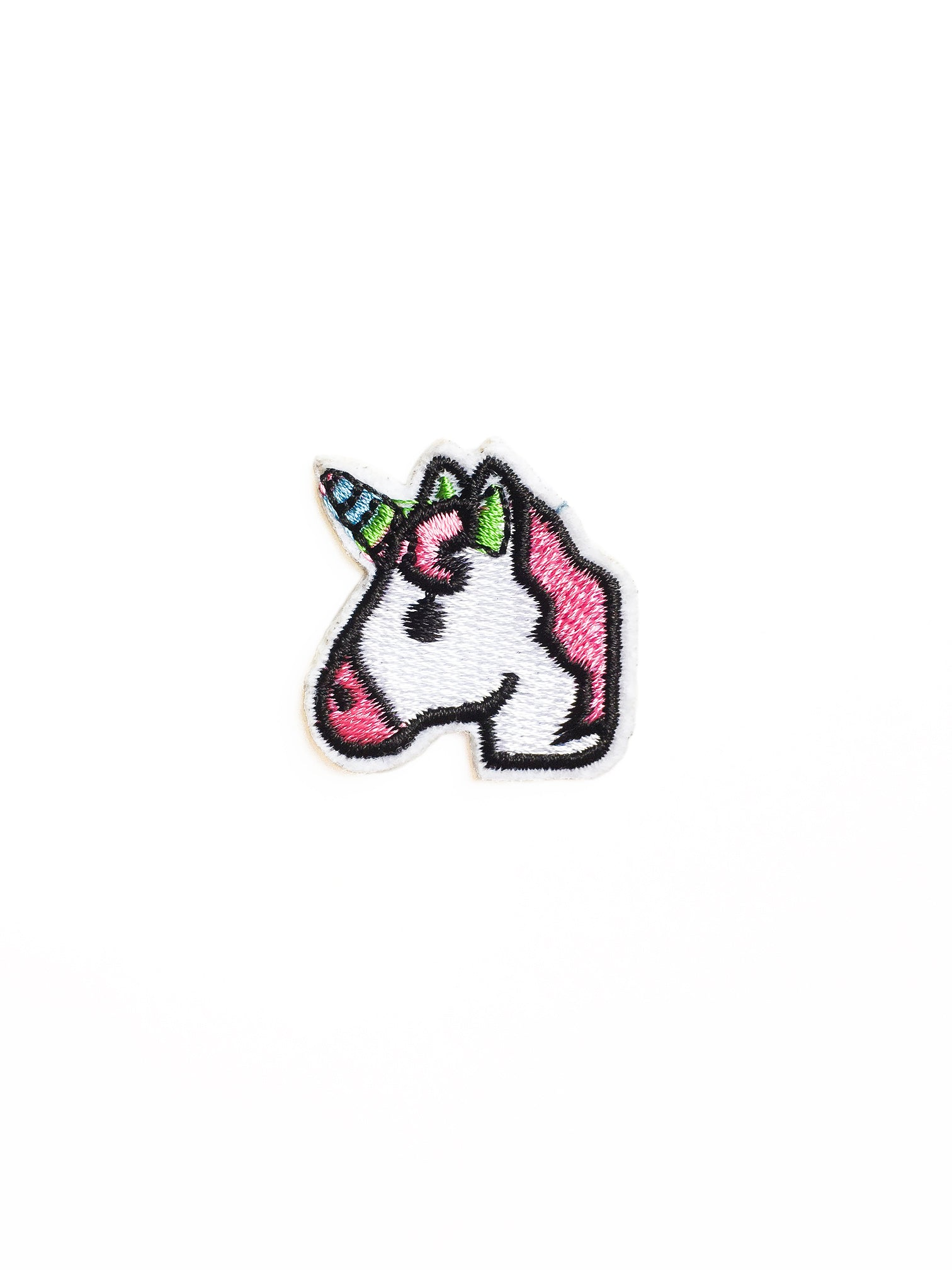 Emoji Unicorn Head Iron on Patch