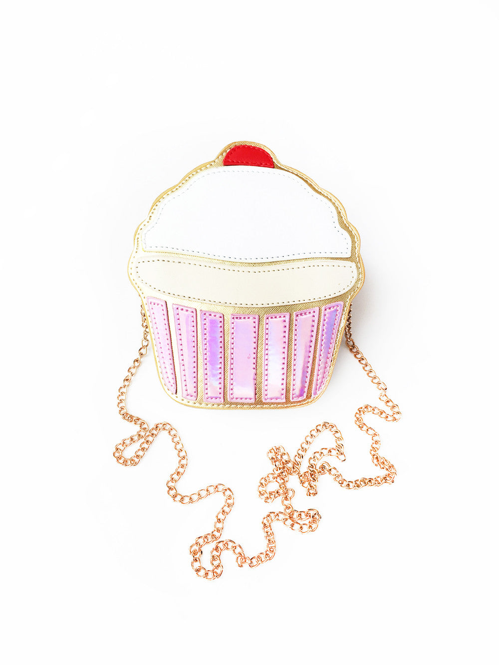 Vanilla Cupcake Cross Body Purse