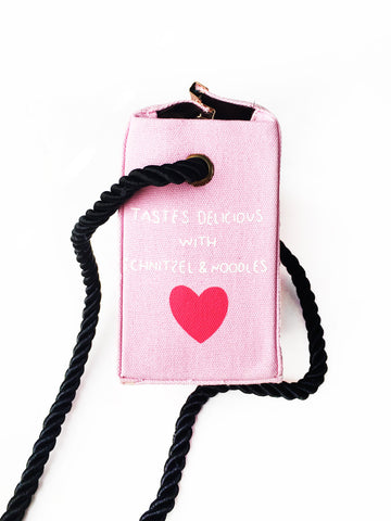 Carton of Pink Milk Cross Body Purse