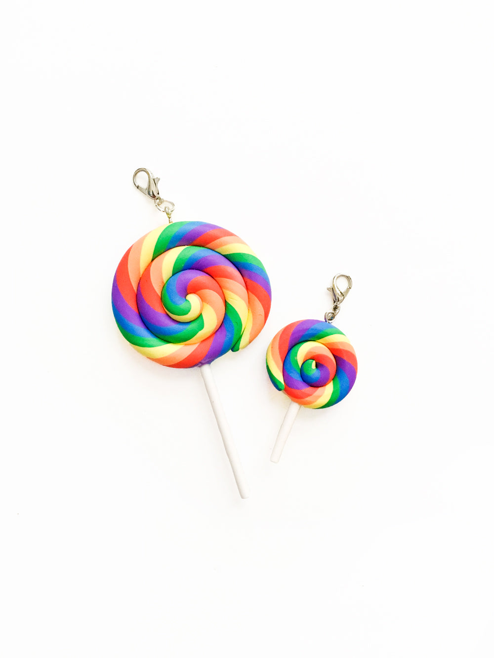 Rainbow LGBT Lollipop Zipper Pull Gift Set