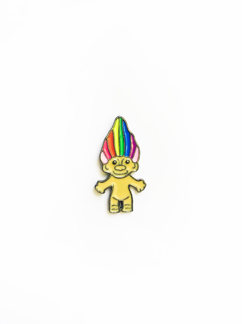 Retro Rainbow Toy Enamel Pin