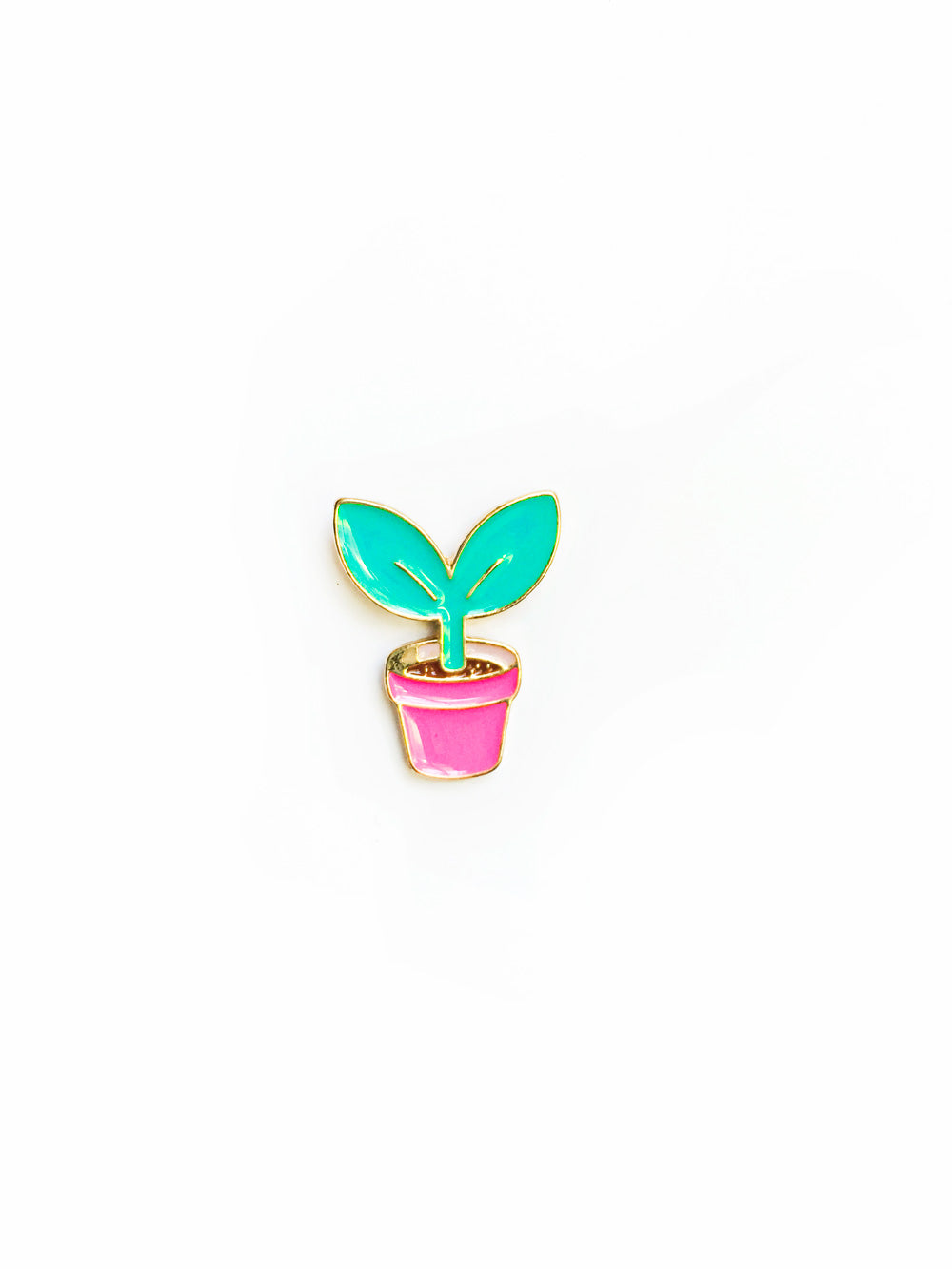 Sprout Enamel Pin