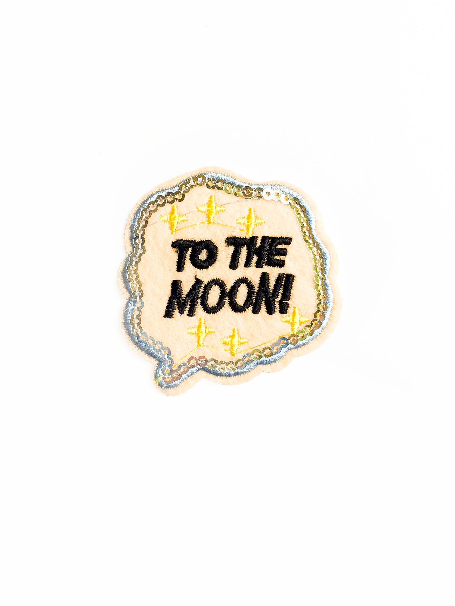 To the Moon Iron on Patch