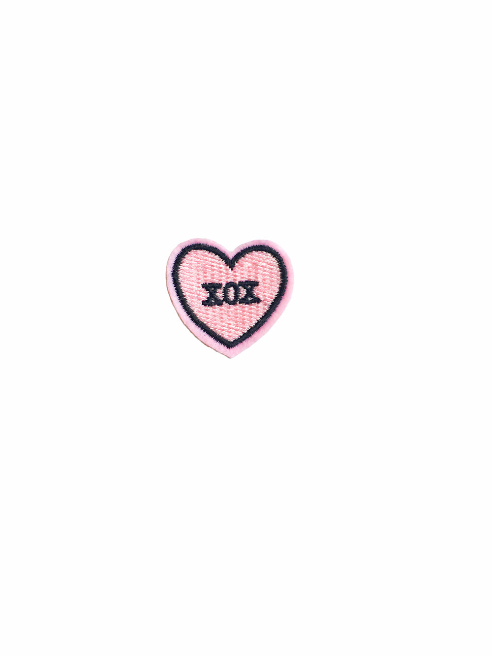 Xoxo Heart Iron on Patch