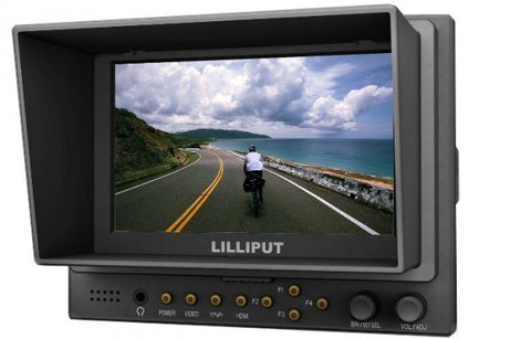 "Lilliput 569/O (accept 50fps and 60fps signal only) 5"" Camera-top Monitor"