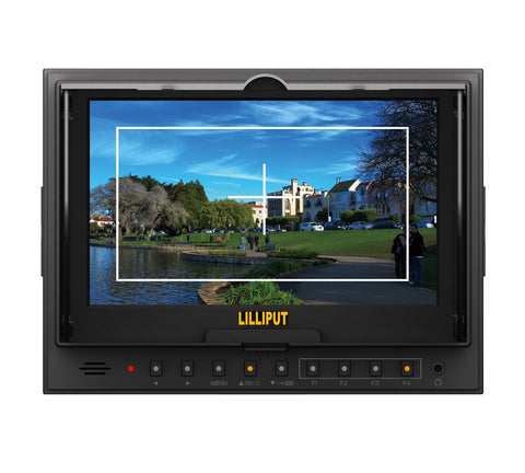 "Lilliput 5D-II/O/P (HDMI Input&Output + Peaking Function) 7"" LED Field Monitor with Advanced Functions"