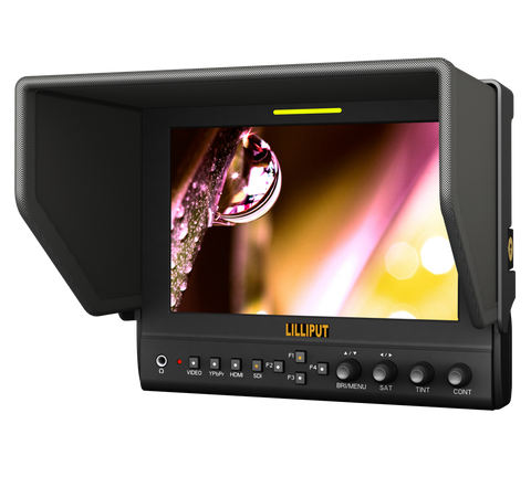 "Lilliput 663 ( HDMI Input ) 7"" Camera-top Monitor"