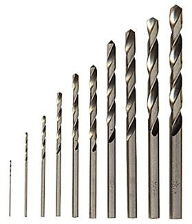 60-piece High Speed Steel Drill Bit Set