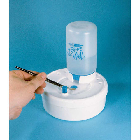Table-Top Airbrush Cleaning Station