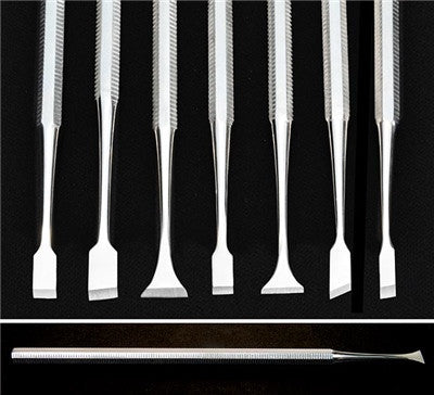 Miniature Chisels (Set Of 7)