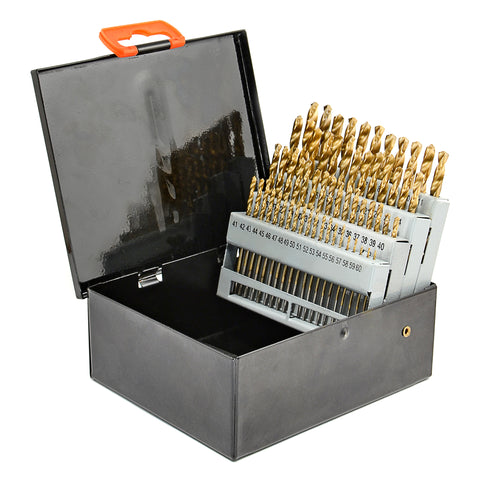 29-piece High Speed Steel Drill Bit Set