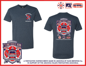 Fire Station 2 IPA Navy Tshirt