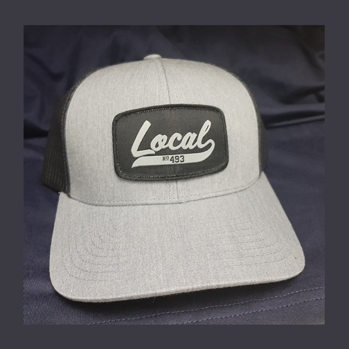 L493 Patch Hat SNAPBACK - Grey