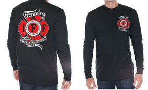 L493 Banner Black Long Sleeve shirt