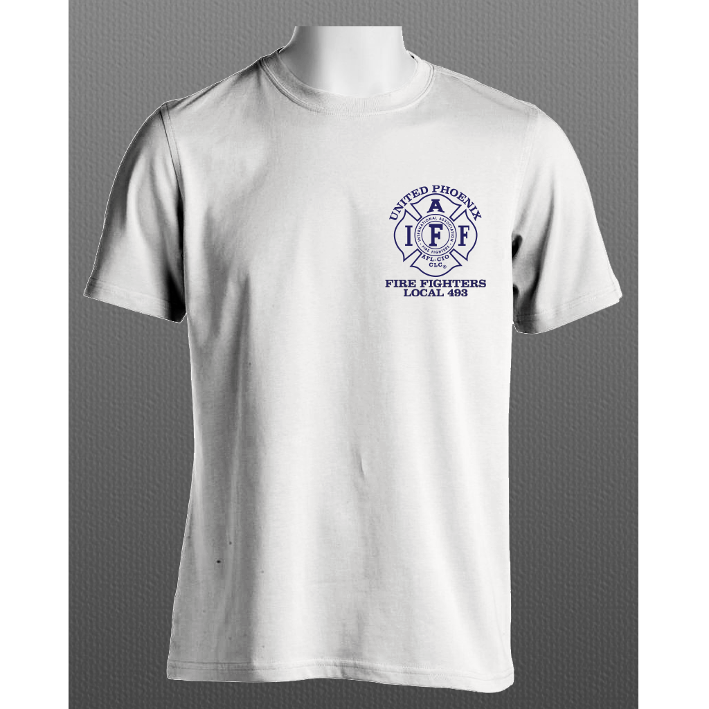 UPFFA L493 White Short sleeve