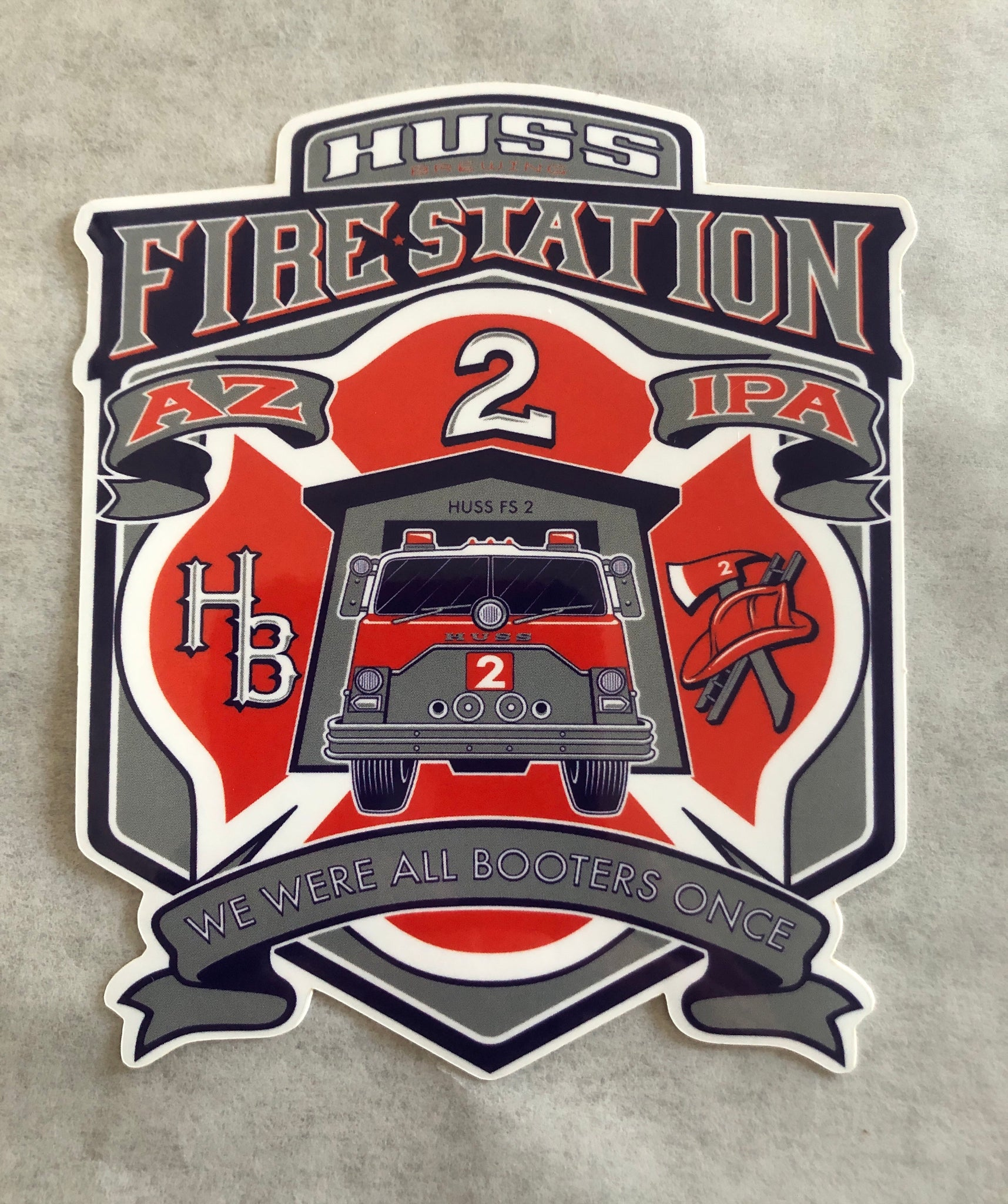 Fire Station 2 sticker pack