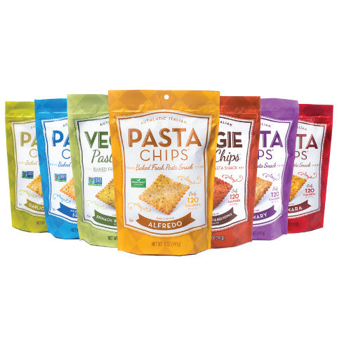Pasta Chips Share Size Sampler - 7pack