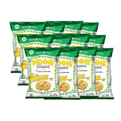 Lemon Garlic Penne Straws 12-pack (6oz.)