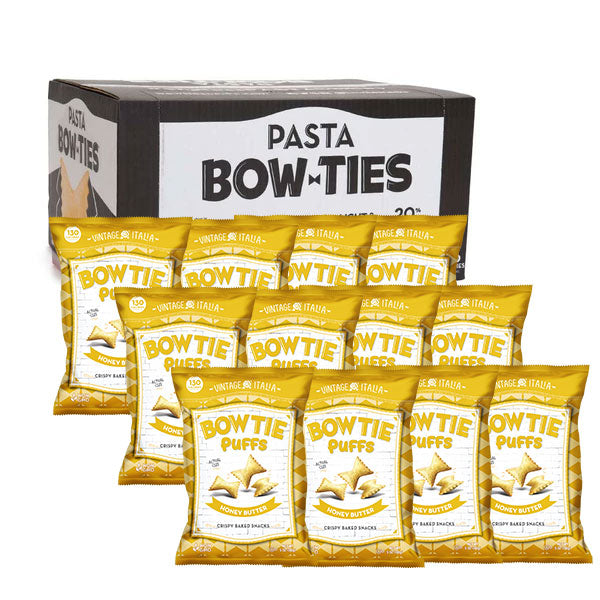Honey Butter Pasta Bow Ties 12-pack (5oz.)
