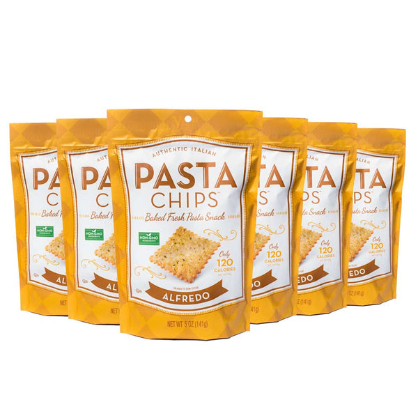 Alfredo Pasta Chips 6-pack (5oz.)