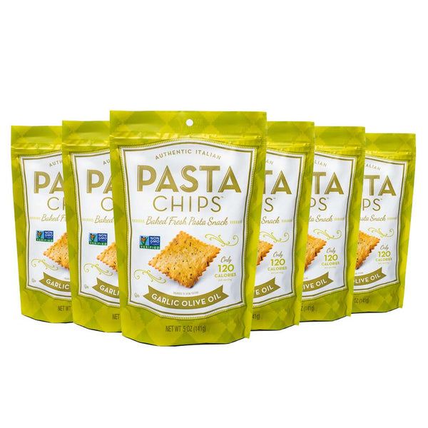 Garlic Olive Oil Pasta Chips 6-pack (5oz.)